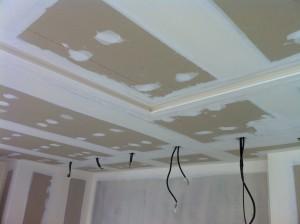 Artisan plâtrier : decaisse-plafond