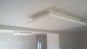 Artisan plâtrier : plafond-decaisse